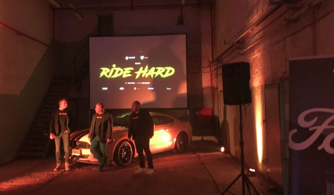 RIDE HARD с Ford Mustang GT