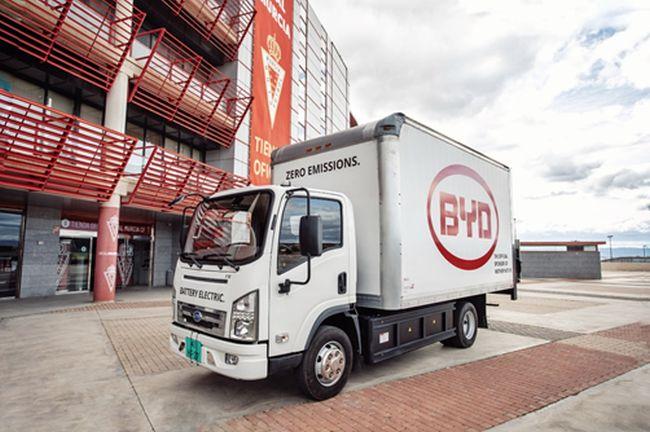 Електрокамионите на BYD идват в Европа