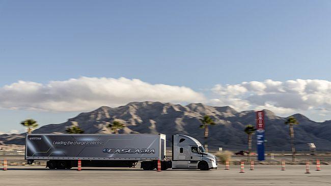 Daimler Trucks на изложението CES 2019 (видео)