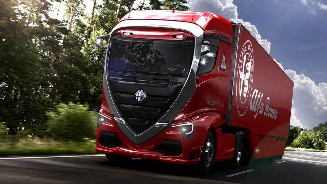 Влекач Alfa Romeo!