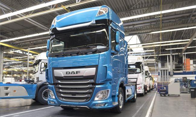 2018: рекордна година за DAF