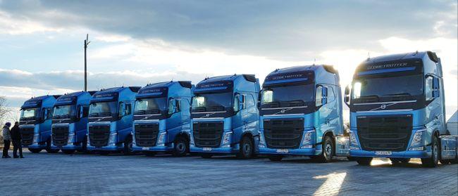 20 нови влекача Volvo FH за Кубин БГ ООД