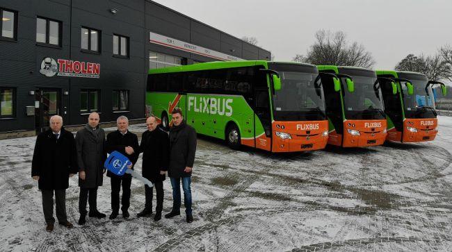 4 нови автобуса Temsa HD за FlixBus в Германия