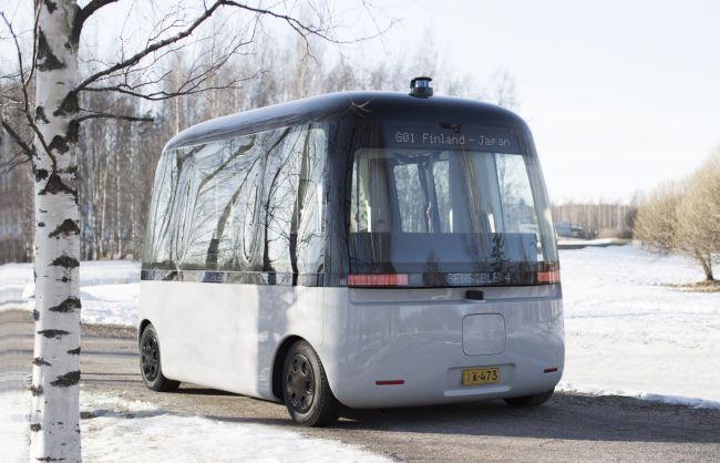 Първият всесезонен роботизиран автобус ще бъде с гуми Nokian Hakkapeliitta