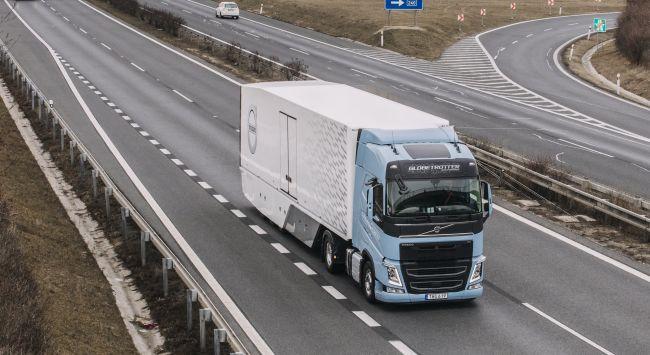 Драйв тест на Volvo FH 460 LNG (видео)