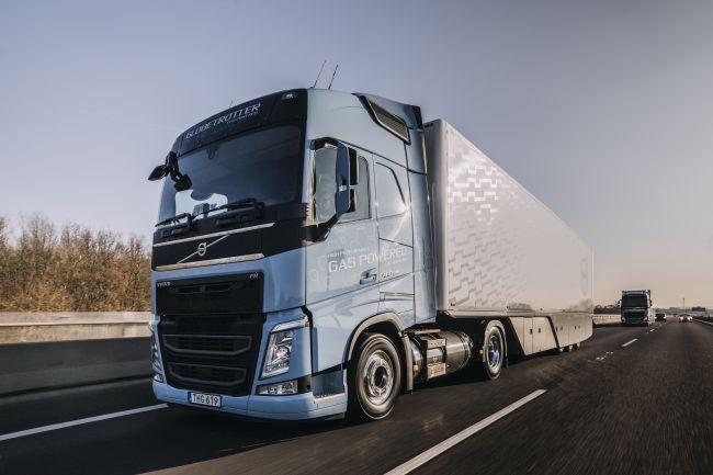 Volvo FH LNG – камион на газ, който върви като дизелов