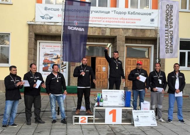 Петър Иванов е българският шампион в състезанието на Scania