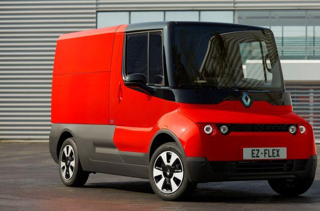 Renault EZ-FLEX: автомобил за градски доставки