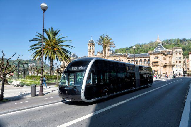 Irizar ie tram влезе и в Швейцария