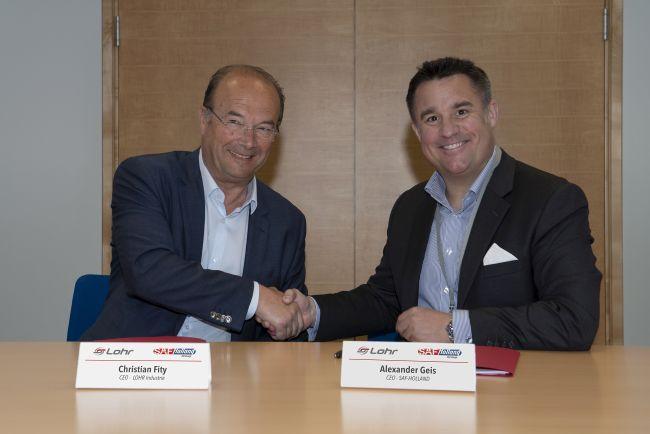 SAF-Holland и Lohr ще разработват е-мостове