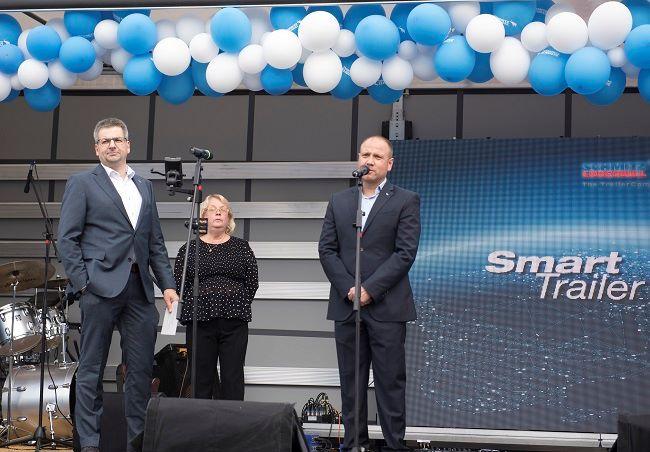 Шмиц Каргобул откри новия си център в София
