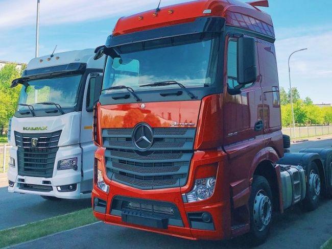 Daimler и КамАЗ откриха завод за производство на кабини