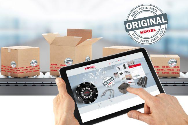 Kögel с нов онлайн магазин за части