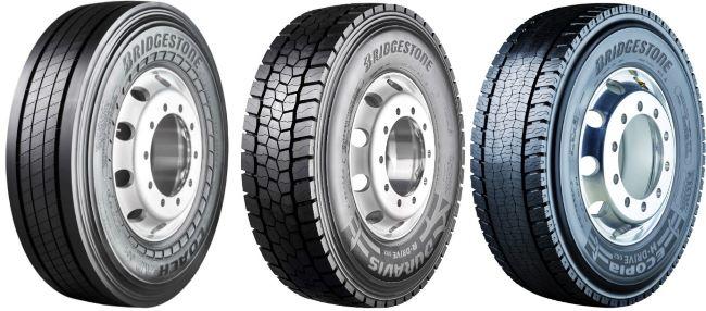 Bridgestone с 3 нови премиум гуми за камиони и автобуси