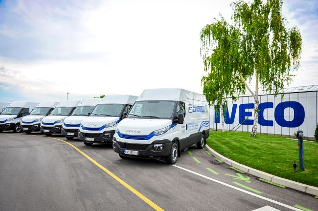 Centrosinergija получи 45 нови IVECO Daily Natural Power