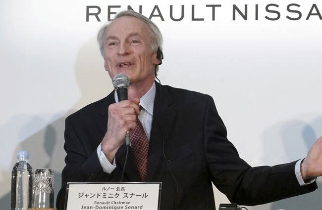 Сенар бе преизбран за президент на Renault