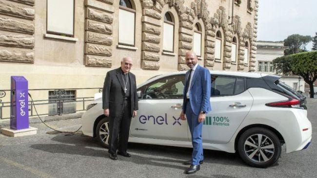Enel и Ватикана заедно за е-мобилността