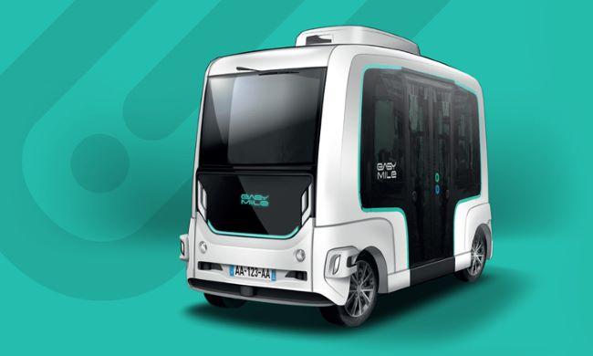 EasyMile EZ10 - споделеният автономен транспорт