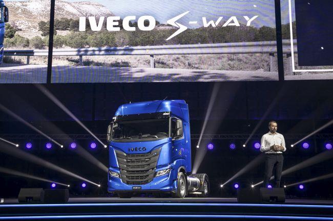 Пътят продължава с Iveco S-WAY