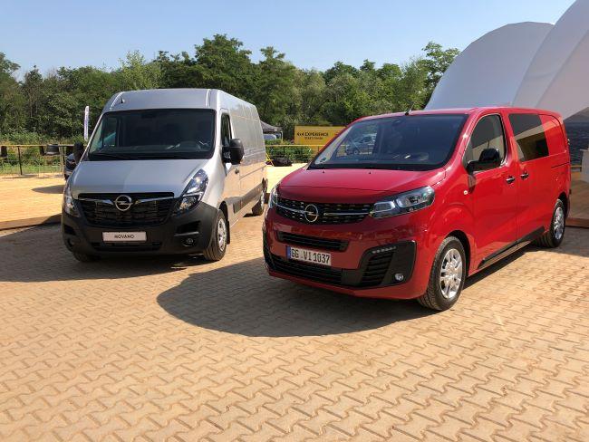Лекотоварното трио на Opel посреща всякакви предизвикателства