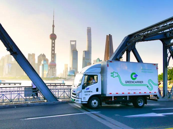 Greencarrier пусна първите си електрически камиони в Китай
