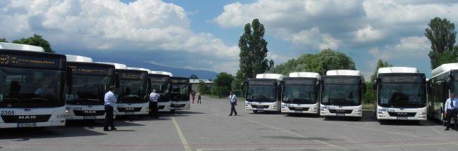 210 нови автобуса са регистрирани в България през 2019 г.