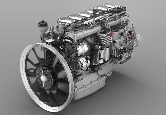 Scania добавя нова версия с 540 к.с. към 13-литровите си двигатели