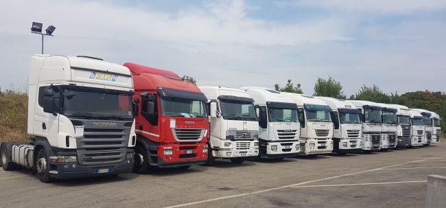 Търг онлайн за 74 камиона и 77 хладилни полуремаркета