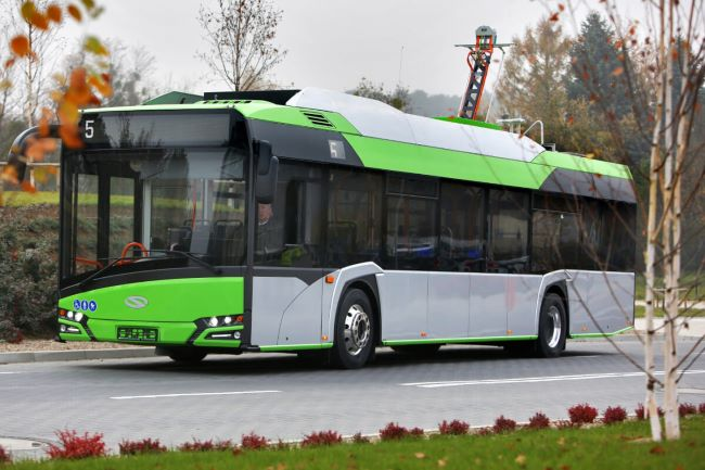 Solaris представя Urbino 12 h, Urbino 18 e и Trollino 24 на Busworld