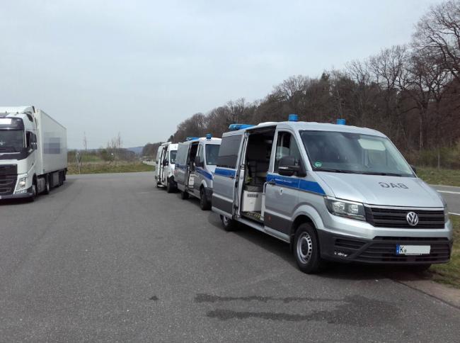 Германските власти ще проверяват камиони на 12 септември