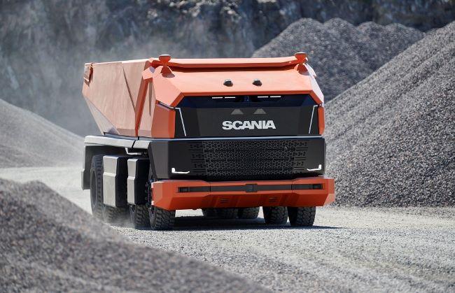 Scania представя автономния AXL