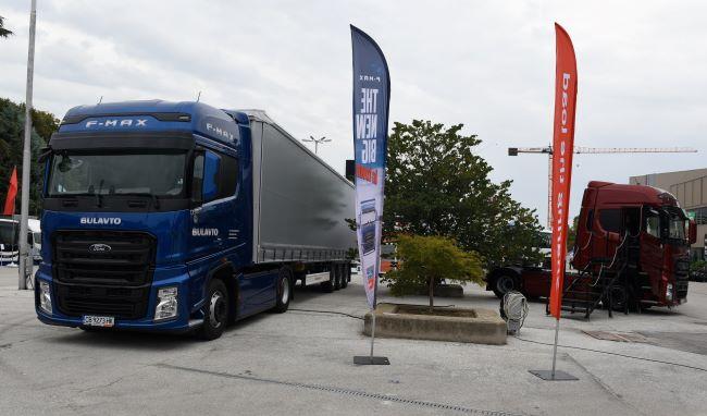 Малко камиони на панаира в Пловдив