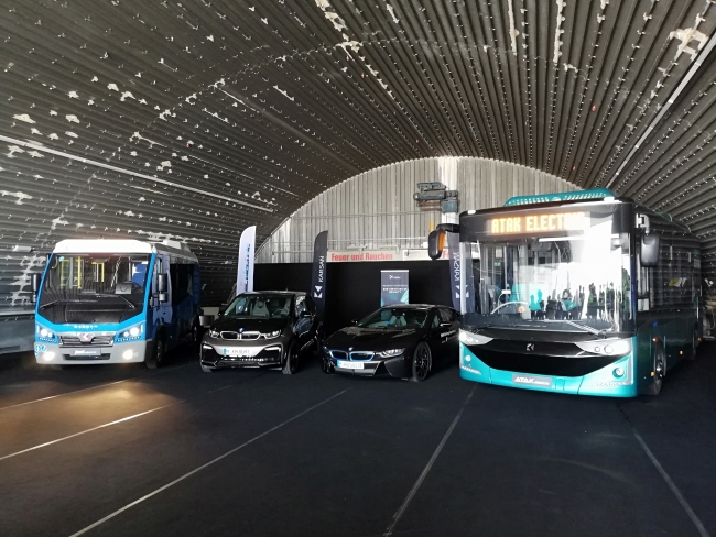 Karsan с електрическите Atak и Jest на Busworld