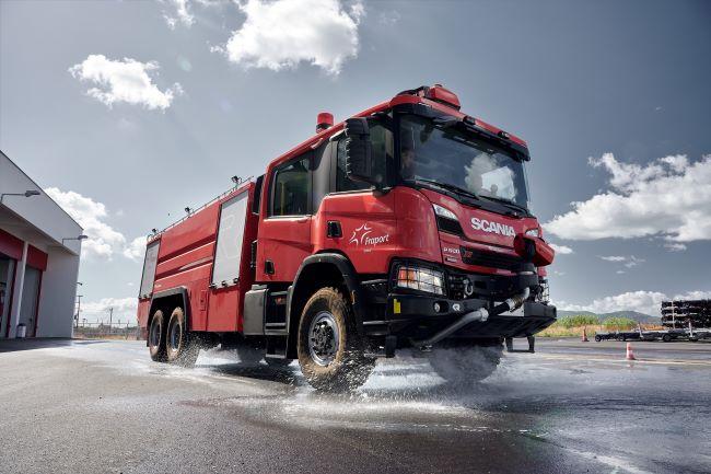 Scania предлага летящ старт за модерните летища