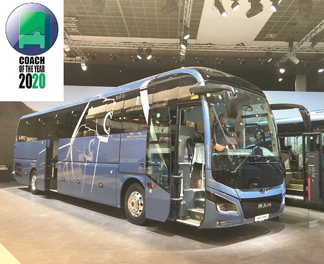 MAN Lion's Coach е Автобус на годината 2020
