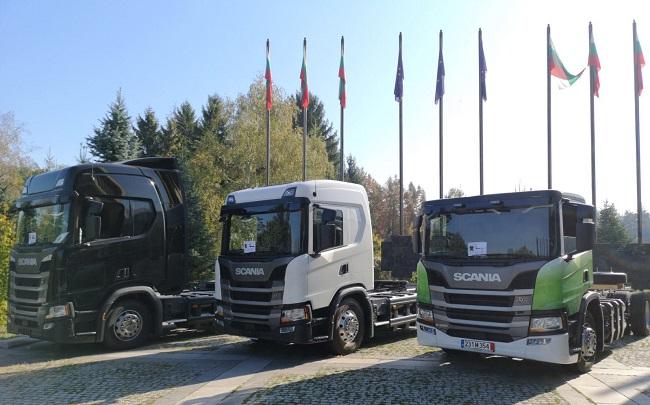 Роуд шоуто на Scania