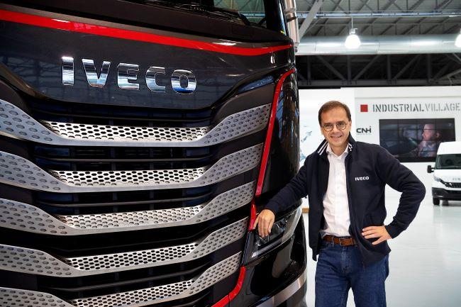 Хилзе е новият бранд президент на IVECO