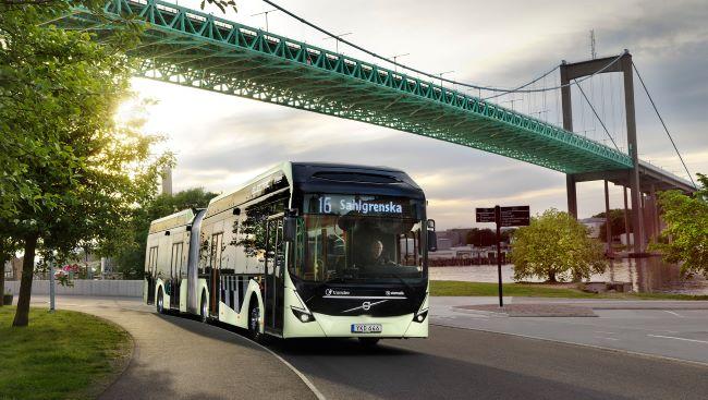 Volvo Buses продава 157 автобуса в Гьотеборг