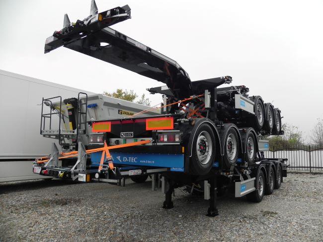 СТЕ Трейлърс България с първа доставка на контейнеровозни полуремаркета D-TEC