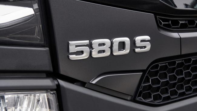 Ново търговско наименование на S-серията на Scania