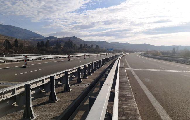 Завърши ремонтът при 62-ри км на АМ Струма