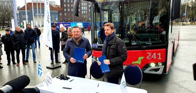 Solaris доставя 100 CNG автобуси на Талин