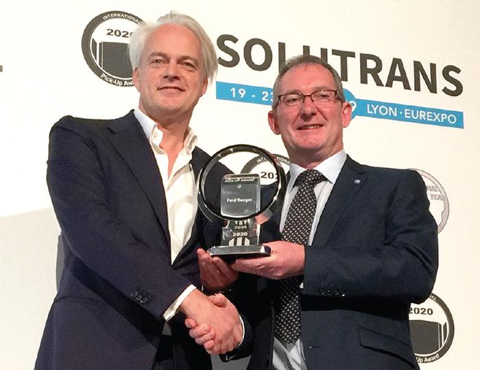 Ford Ranger спечели International Pick-up Award 2020
