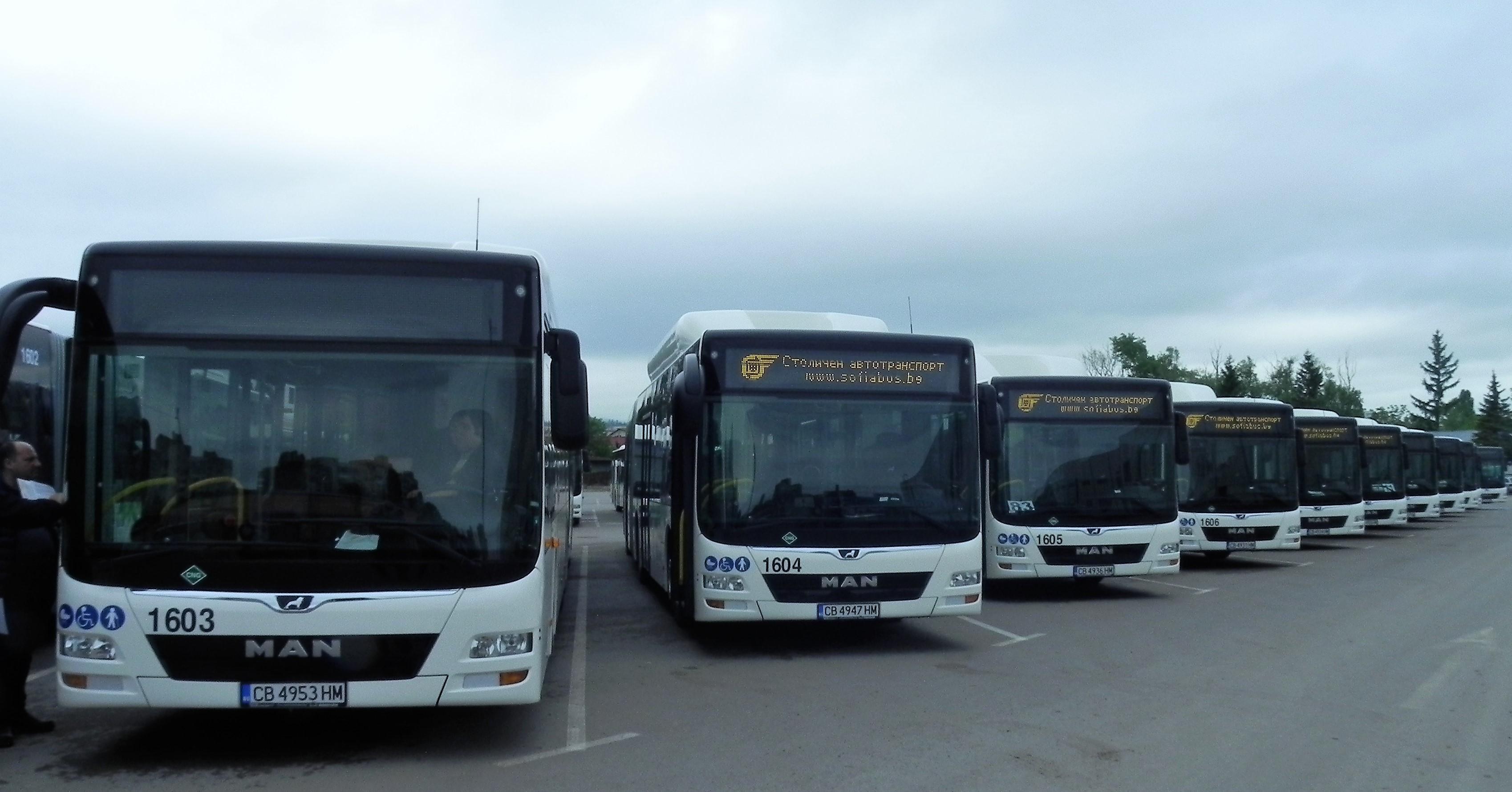 228 нови автобуса са регистрирани през 2019 г.