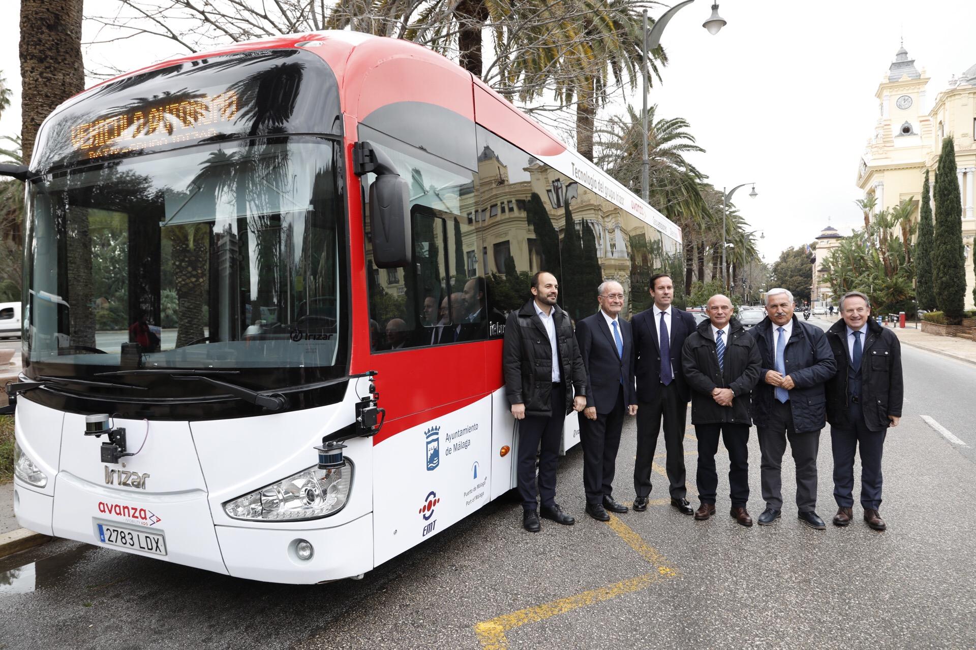 Irizar Group представи първия си автономен автобус