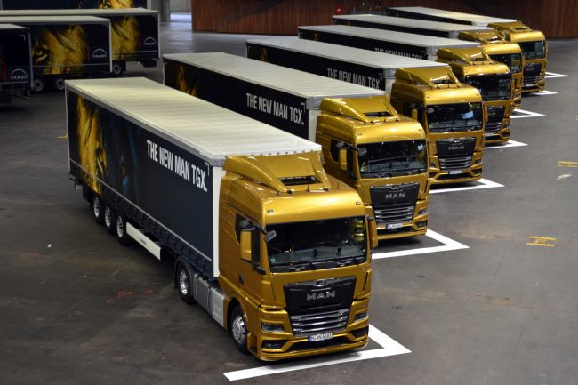 Видео - премиера на новата гама камиони MAN