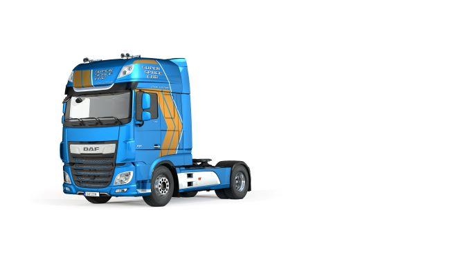 DAF отпразнува 250 000 Super Space Cab