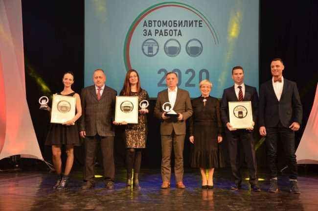 Mercedes-Benz и Ford триумфираха на Международните награди Автомобили за работа 2020