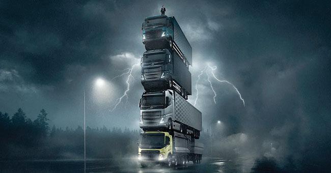 Volvo анонсира с атрактивен филм новата си тежка гама