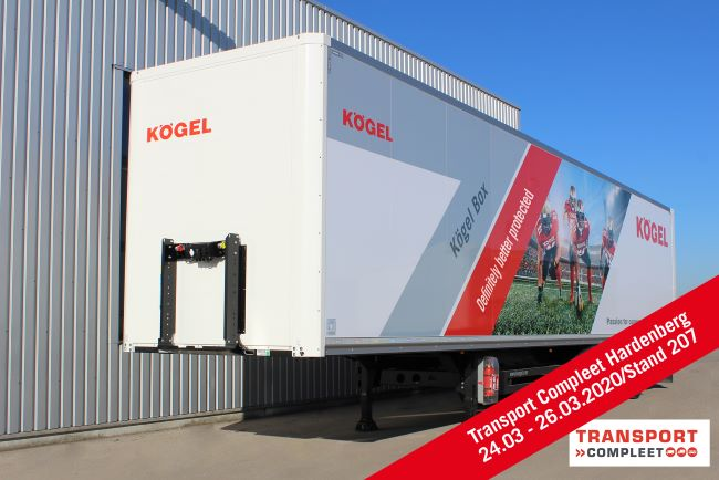 Показват Kögel Box на Transport Compleet Hardenberg 2020
